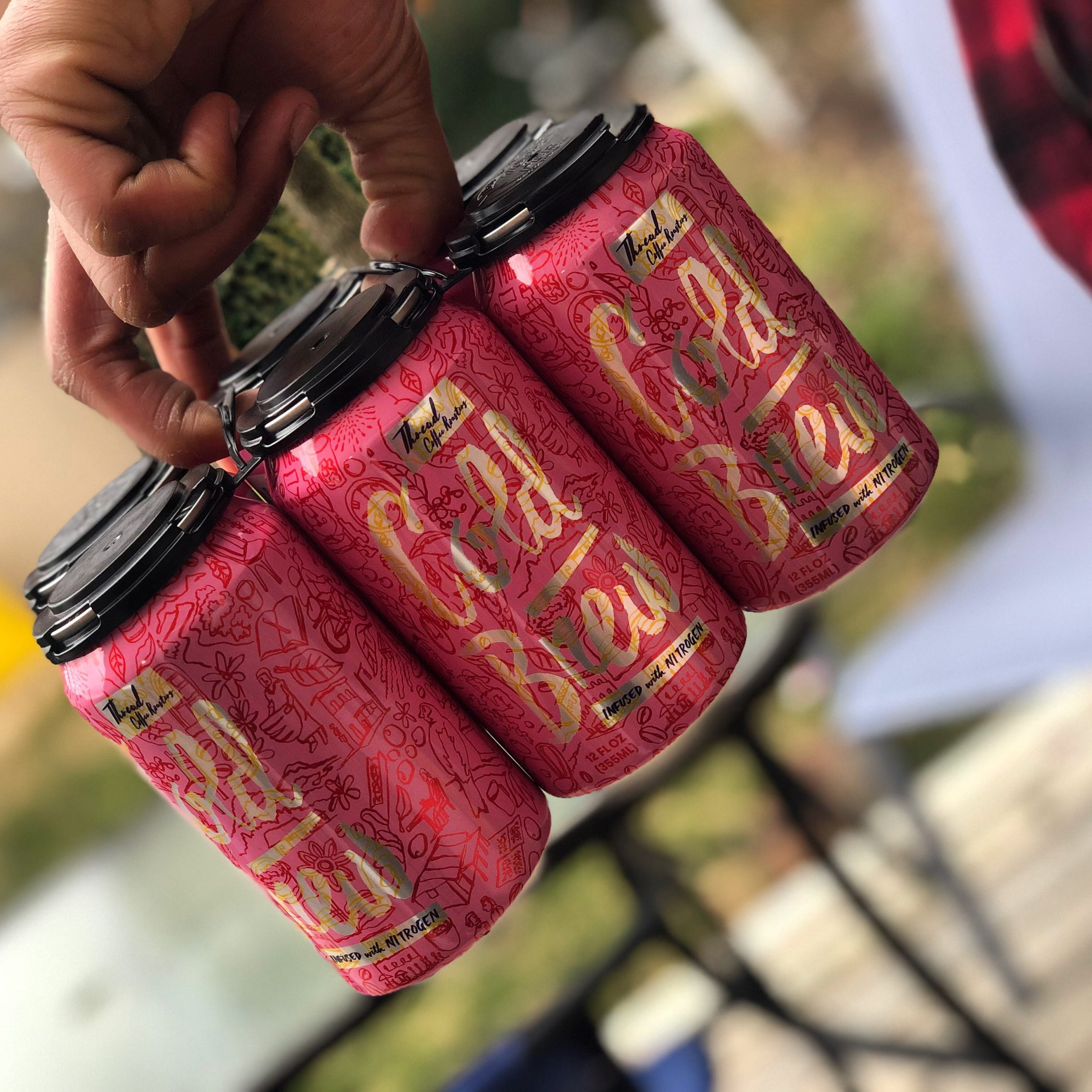 Nitro Cold Brew Cans - Local Delivery Only (Baltimore)