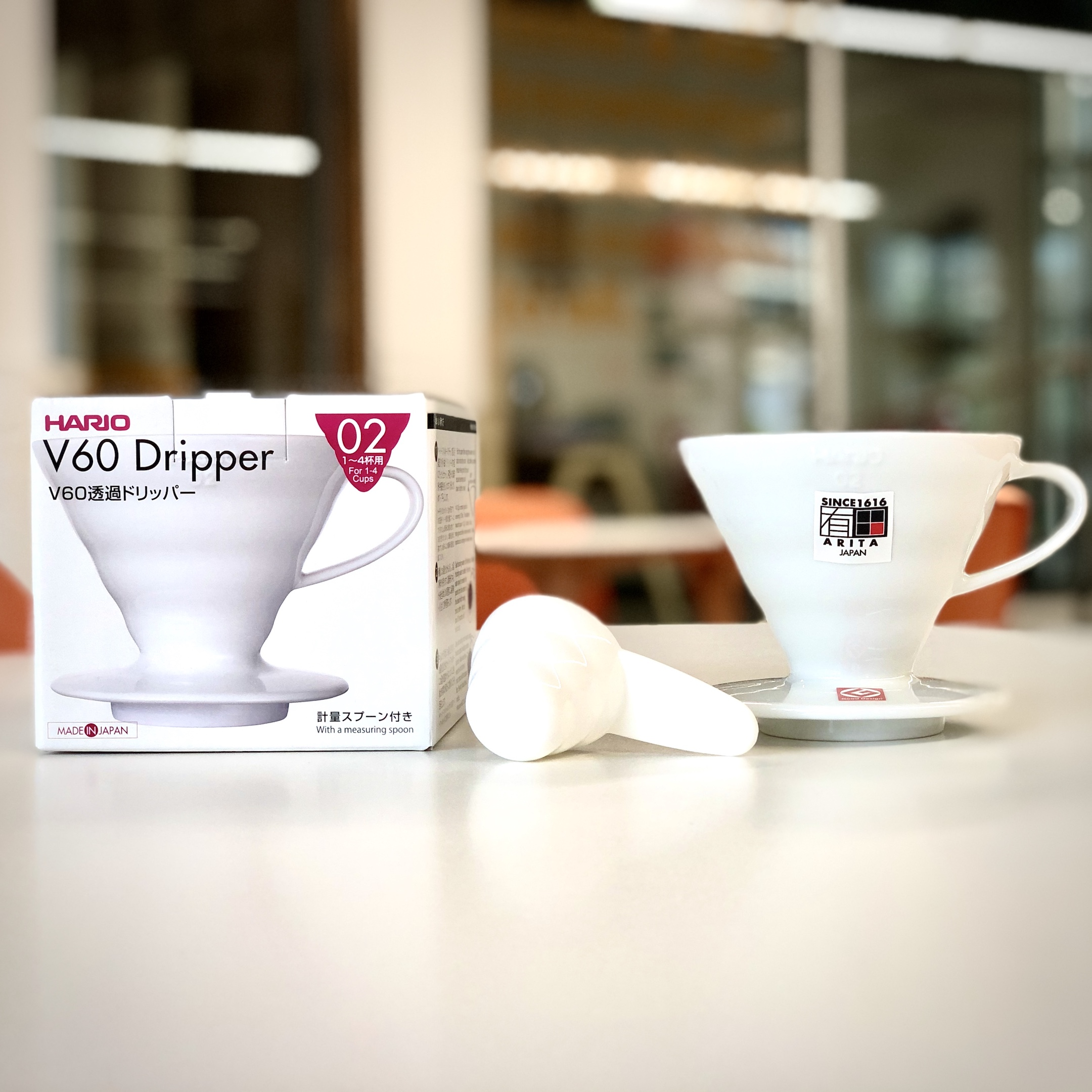 Hario V60 Ceramic Dripper 02 (White)