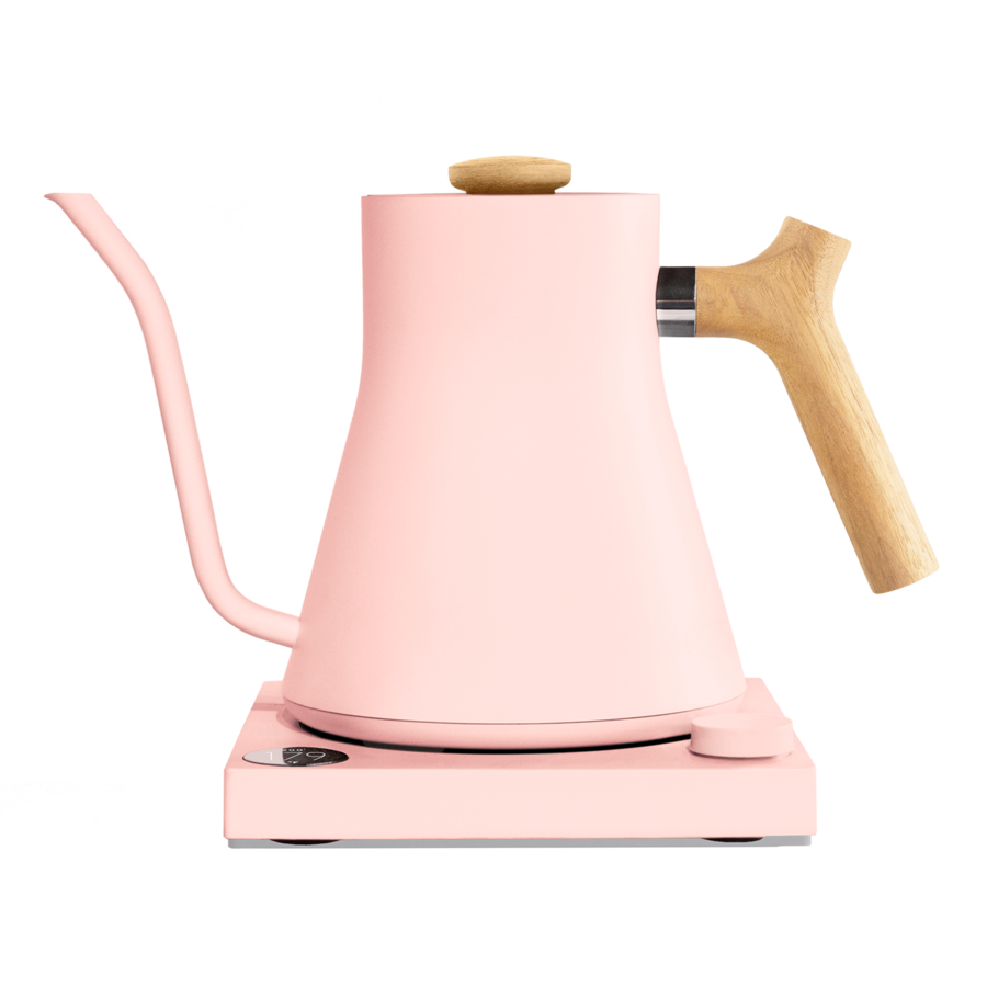 Fellow Stagg EKG Electric Kettle - 0.9L - Warm Pink with Maple