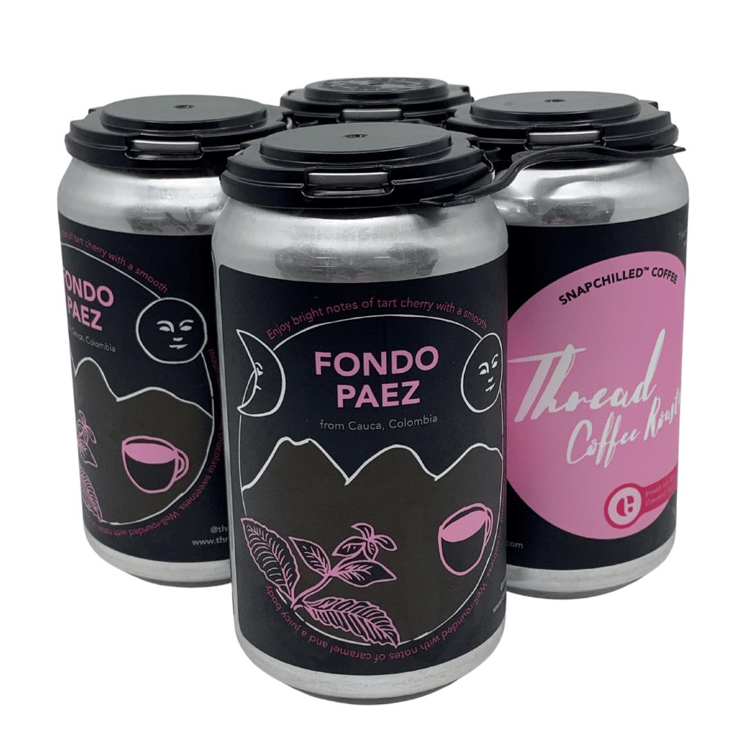 Snapchilled Fondo Paez - Nitro Flash Brew 12oz - 4 Pack